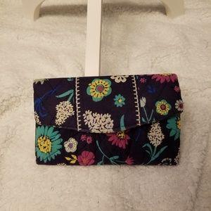 Handbags - Floral Print Wallet